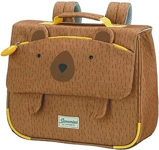 Happy Sammies - Mochila escolar S, 32 cm, 8 L, Marrón (Teddy Bear)