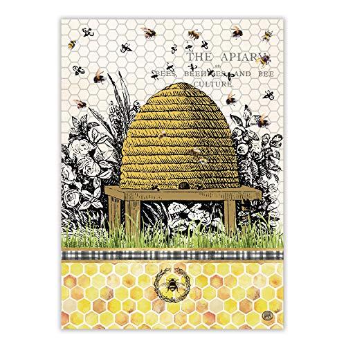 Michel Design Works Kitchen Towel  Honey & Clover
