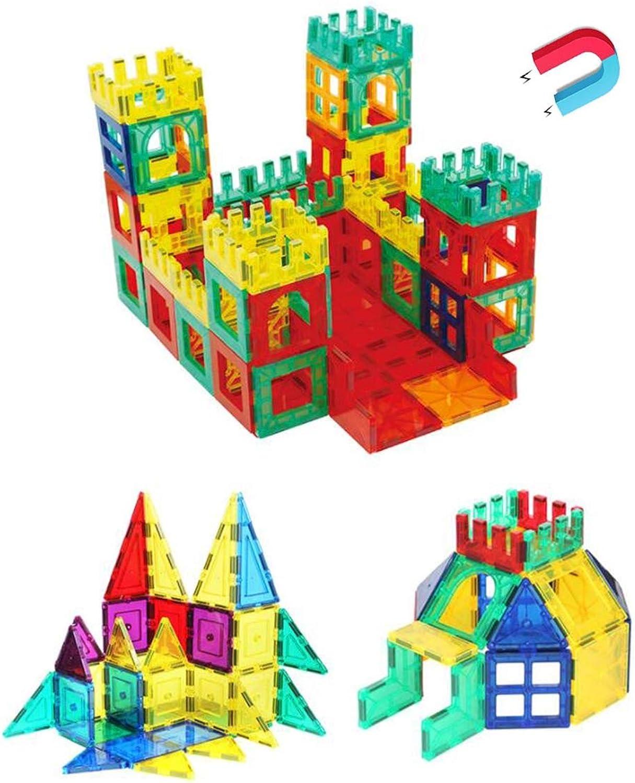 online barato SLONG Niños Niños Niños Bricolaje Rompecabezas Ciencia y educación Juguete Conjunto Variedad tirando Bloques de construcción Juguete magnético Pieza de plástico  mas preferencial