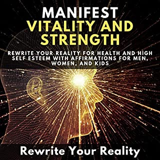 Manifest Vitality and Strength audiobook cover art