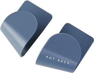 Self Adhesive Pot Lid Holder Wall Door Mounted Pot Lid Rack Pan Pot Wall Mount Holder For Kitchen