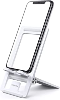 UGREEN Cell Phone Stand for Desk Adjustable Phone Holder Dock Compatible for iPhone 12 Plus Pro Max 11 Pro Max XS XR 8 Plu...