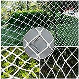 WGE Filet de Protection, escaliers Balcon Sécurité des Enfants Filet Anti-Chute Filet de Protection pour Plantes de Jardin Grimpant(5cm Meshses, 2 M X 4 M)