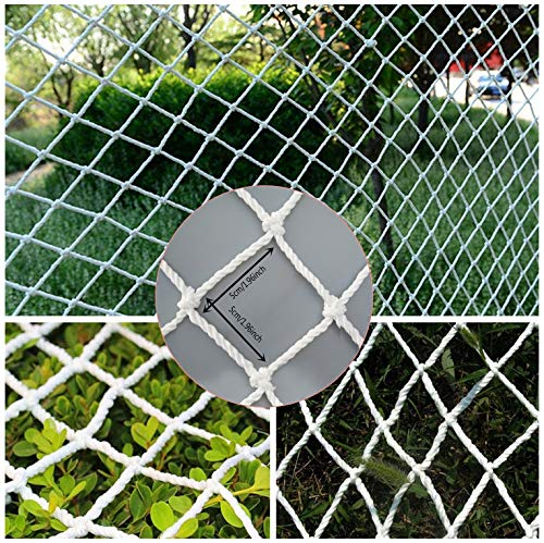 WGE Beschermingsnet, Trappen Balkon Kinderveiligheid Lading Anti-val Netto Beschermende Tuinplant Klimmen Netting (5cm Gaas, 2 M X 12 M)