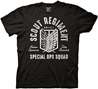 Ripple Junction Attack On Titan Scout Regiment Special Ops Squad Adult T-Shirt