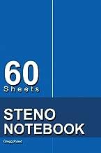 Steno Notebook: 6