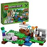 LEGO Minecraft - El Gólem de Hierro, Juguete de Construcción Basado en el VideoJuego (21123)
