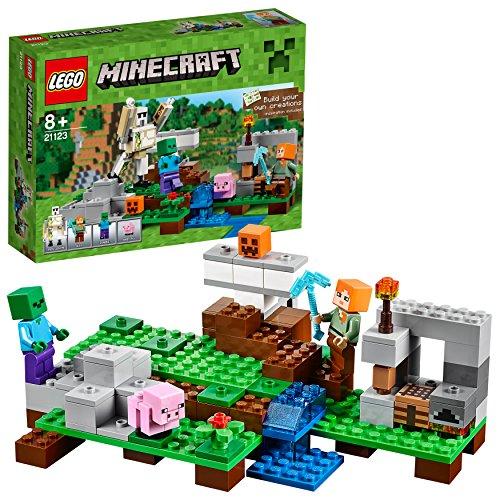 LEGO minecraft Golem di Ferro Costruzioni Piccole Gioco Bambina Giocattolo, Multicolore, 21123