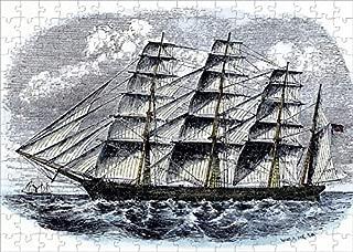 Media Storehouse 252 Piece Puzzle of American Clipper Ship Great Republic (5886551)