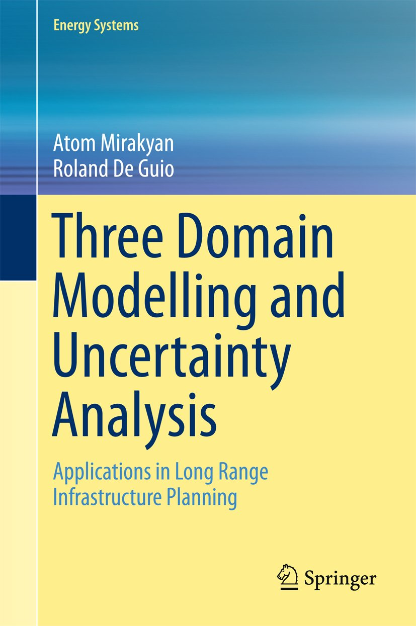 Three Domain Modelling and Uncertainty Analysis: Applications in Long Range Infrastructure Planning (Energy Systems)
