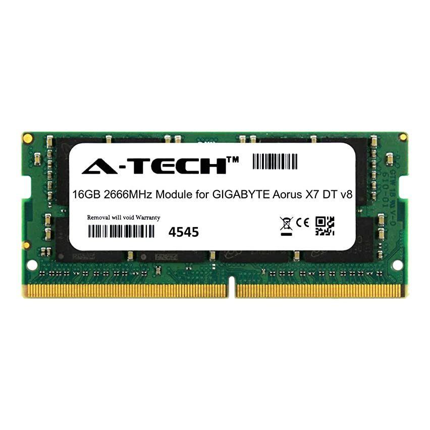A-Tech 16GB Module for GIGABYTE Aorus X7 DT v8 Laptop & Notebook Compatible DDR4 2666Mhz Memory Ram (ATMS385505A25832X1)
