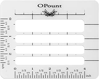 OPount Envelope Addressing Guide Stencil Template Fits Wide Range of Envelopes, Sewing, Christmas Cards