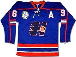 Doug Glatt Halifax Hockey Jersey Includes EMHL and A Patches Stitch