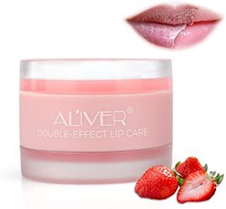 Lip Scrub, Lip Treatment Soothing Moisturizing Lip Mask for Chapped and Cracked Lips, Younger Looking Lips Overnight, Rest...