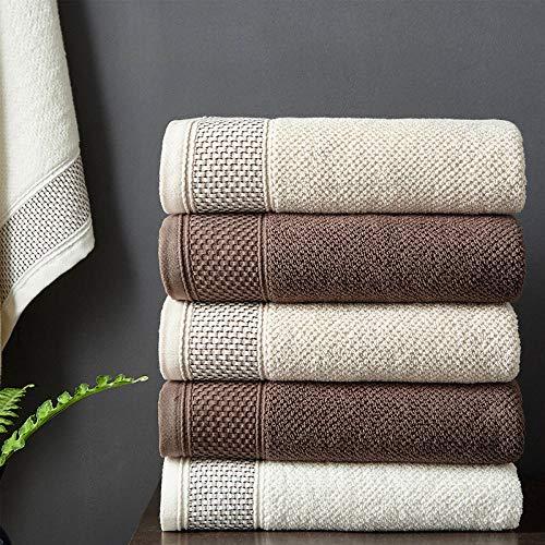 lianggehaizi Handtuchset Baumwolle Handtuch Geschenkbox Serviette dick Geschenk dreiteilig Geschenk weiß