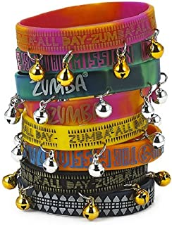 Rock N Rave Rubber Bracelets 8-pack (4 with bells) (4 without bells)