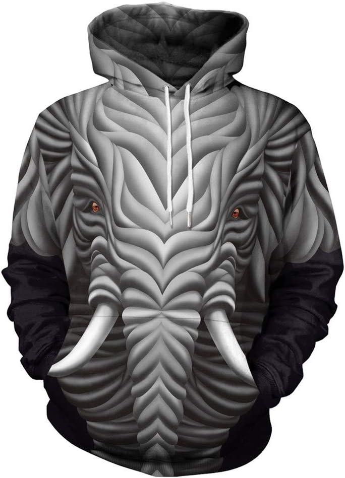 Ruanyi Elefante Impresión 3D Creativo Abstracto Animal Mamut ...