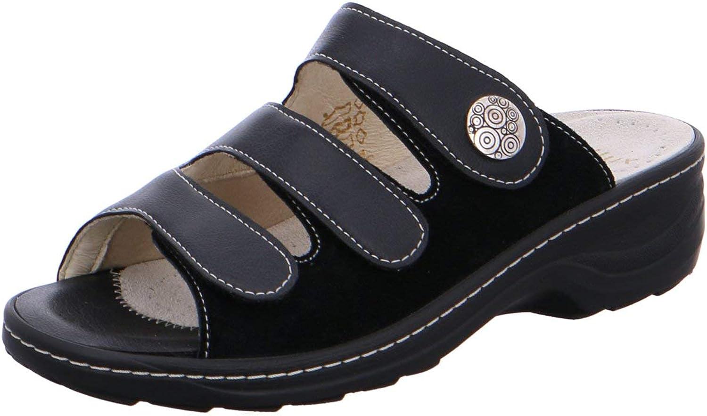 Fidelio Damen Pantoletten Hallux D-Pant. H1 H1 2 236015 70 schwarz 304458  preiswert