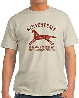 Longmire Red Pony T-Shirt Cotton T-Shirt
