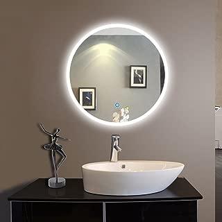 Best bathroom with round mirror Reviews