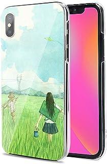 LG G8X ThinQ ケース カバー ハード TPU 素材 おしゃれ かわいい 耐衝撃 花柄 人気 全機種対応 春の風2 アニメ かわいい ファッション 11899830