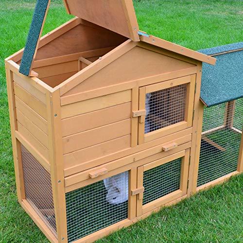 Stall Nr 1 Kaninchenstall Hasenstall Kaninchenkäfig Hasenkäfig Meerschweinchenstall - 3