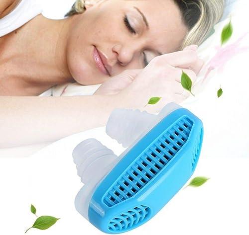 VI FITKIT Snore Stopper Device Anti Snoring Air Purifier 2 In 1 Sleep Apnea Machine For Men Women Improves Nasal Health Breath Easy Sleep Quiet 1