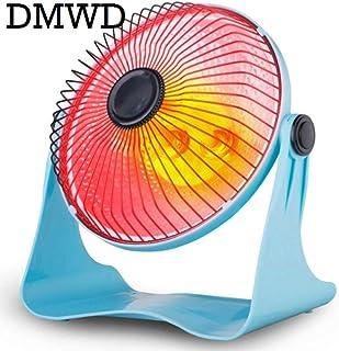 Yuan Dun'er Radiadores electricos bajo Consumo Aceite,Calentador Personal portátil Calentador eléctrico 200W Aire Cálido Invierno Mini Escritorio Ventilador Calentador Hogar Hogar Azul
