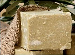 Olivenölseife, 100% Naturprodukt - 100% original Olivenölseife fürs Haar, Gesicht und Körper. Handgeschnitten