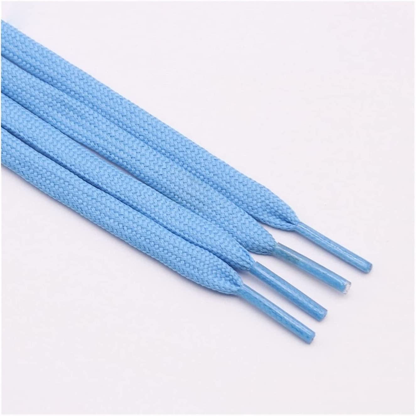 Manufacturer direct delivery ZYQXB 7mm 34 Solid Color Shoelaces Pair Dou Hollow of Washington Mall Classic A