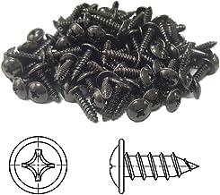 M2 M2.3 M2.6 M3 Frais/ée Acier au Carbone Vis Autoperceuse /Électronique Vis Noir XFentech Vis Autotaraudeuses 500pcs M3*16mm