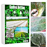 Garden Netting, 10ftx33ft Insect Netting, Thicken Bird Mosquito Netting, Ultra Fine Bug Netting, Soft Permeable Bug Cicada Netting for Garden, Garden Screens Insect Mesh for Plants