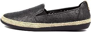 PLANET Kim Black Smooth Womens Shoes Flats Shoes