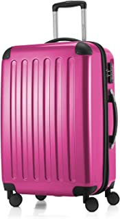 """Hauptstadtkoffer Alex Luggage Suitcase Hardside Spinner Trolley Expandable 24"""" TSA Pink 65 Centimeters"""