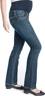 6f8174d9 Christoff Vaqueros Diseñador Boot-Cut (32L & 36L) Pantalón Vaquero Mujer  Moda premamá