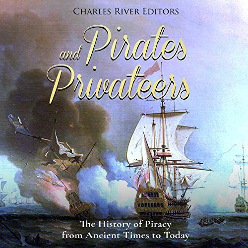 Pirates and Privateers audiobook cover art