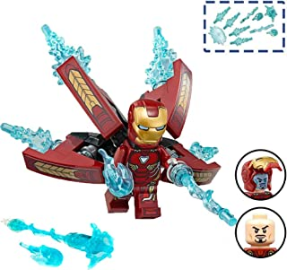 Iron Man Infinity War Avengers Endgame Action Figure Toys - Building Hero Blocks Toy for Kids – Invincible Mini Figures Super Heroes Block Kit – Perfect New Gift Play Set Game 2019 for Children