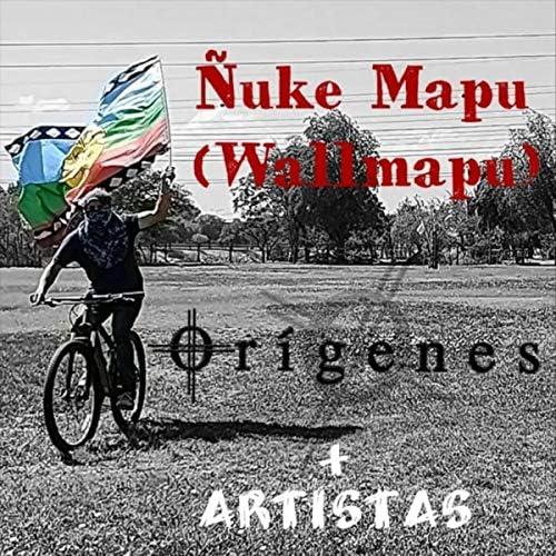 Orígenes feat. Angelika Llankamil, Arauko Rock, Jorge Campos, Francisco Villa, ANTVLEF & Vladimir Silva