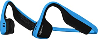 AfterShokz Trekz チタン 開放型 ワイヤレス 骨伝導ヘッドホン One ブルー AS600