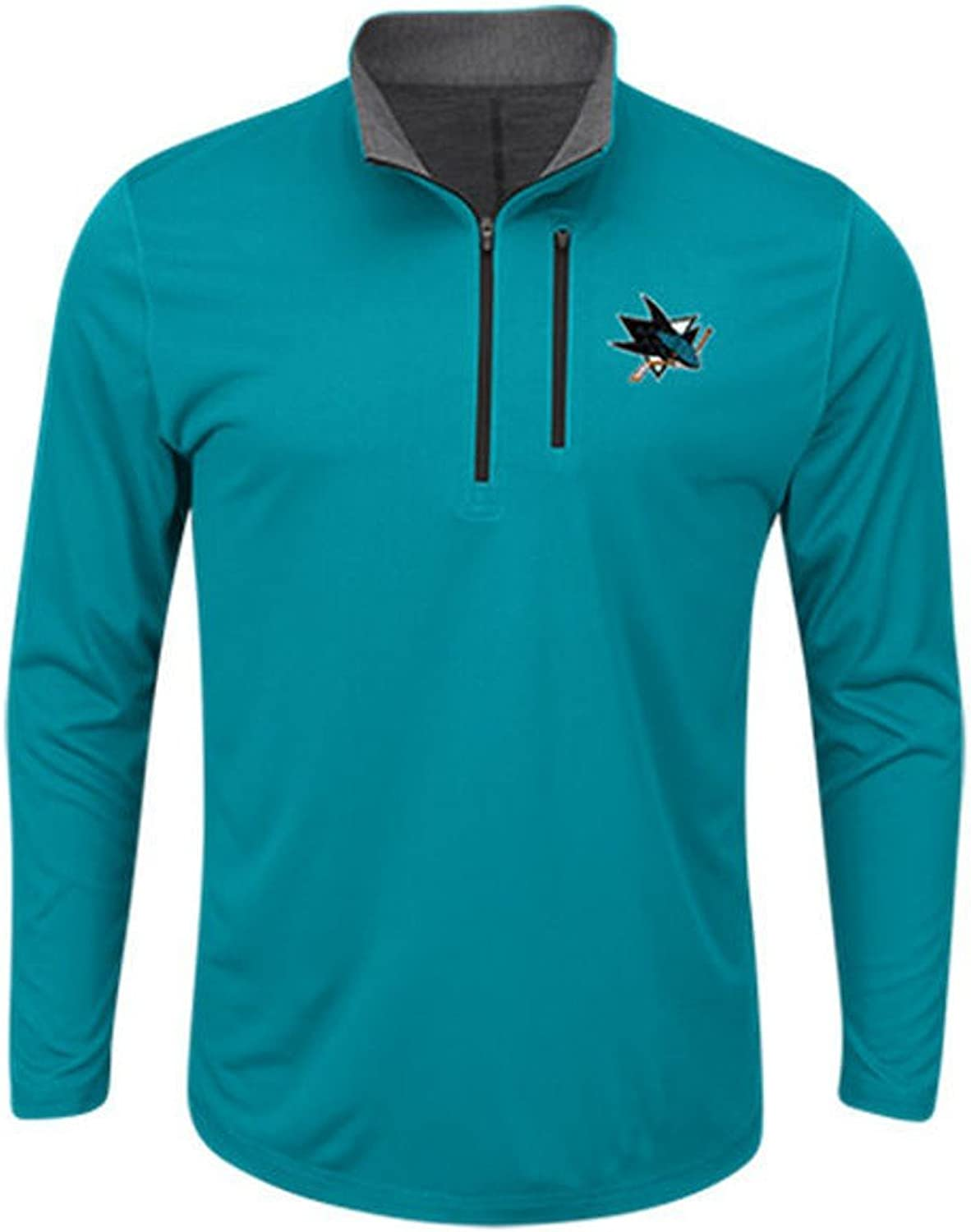 VF Youth San Jose Sharks Good Work Cool Base Fleece Jacket Sweatshirt Youth Size (Large)
