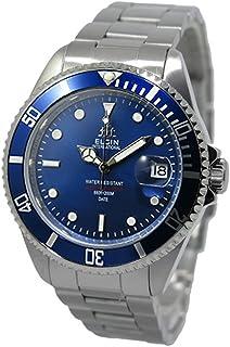 ELGIN [エルジン] 自動巻き 腕時計 FK1405S-BL ブルー メンズ [並行輸入品]