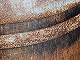 Temesso Stehtisch Tisch aus gebrauchtem Holzfass Weinfass, Fass, Barrique Tisch aus Eiche Holz rustikal 225 Liter (rustikal geölt) - 3