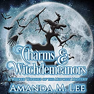 Charms & Witchdemeanors audiobook cover art