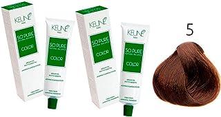 Tinta Keune So Pure 60ml - Cor 5 - Castanho Claro
