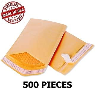 Wholesale Kraft Bubble Mailers Padded Bubble Envelopes for Ebay Paypal Shipping Envelopes Sizes #0#00#000#1#2#3#4#5#6#7! (#000-500 Envelopes - 4