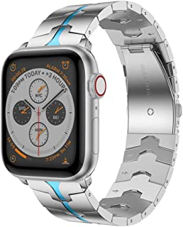 RABUZI - Correa de Repuesto para Reloj Apple Watch de 44 mm/