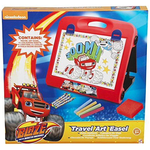 Sambro Blaze And The Monster Machines Travel Art Easel