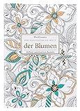 Idena 68139 Livre de coloriage pour Adulte, Fleurs, 42 × 29,7 cm