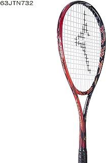 MIZUNO/ミズノ ジストZゼロ ソリッドブラック×フレイム+ミクロパワー張り上げ 63JTN732623 軟式テニスラケット ソフトテニスラケット 後衛用 2017年6月発売