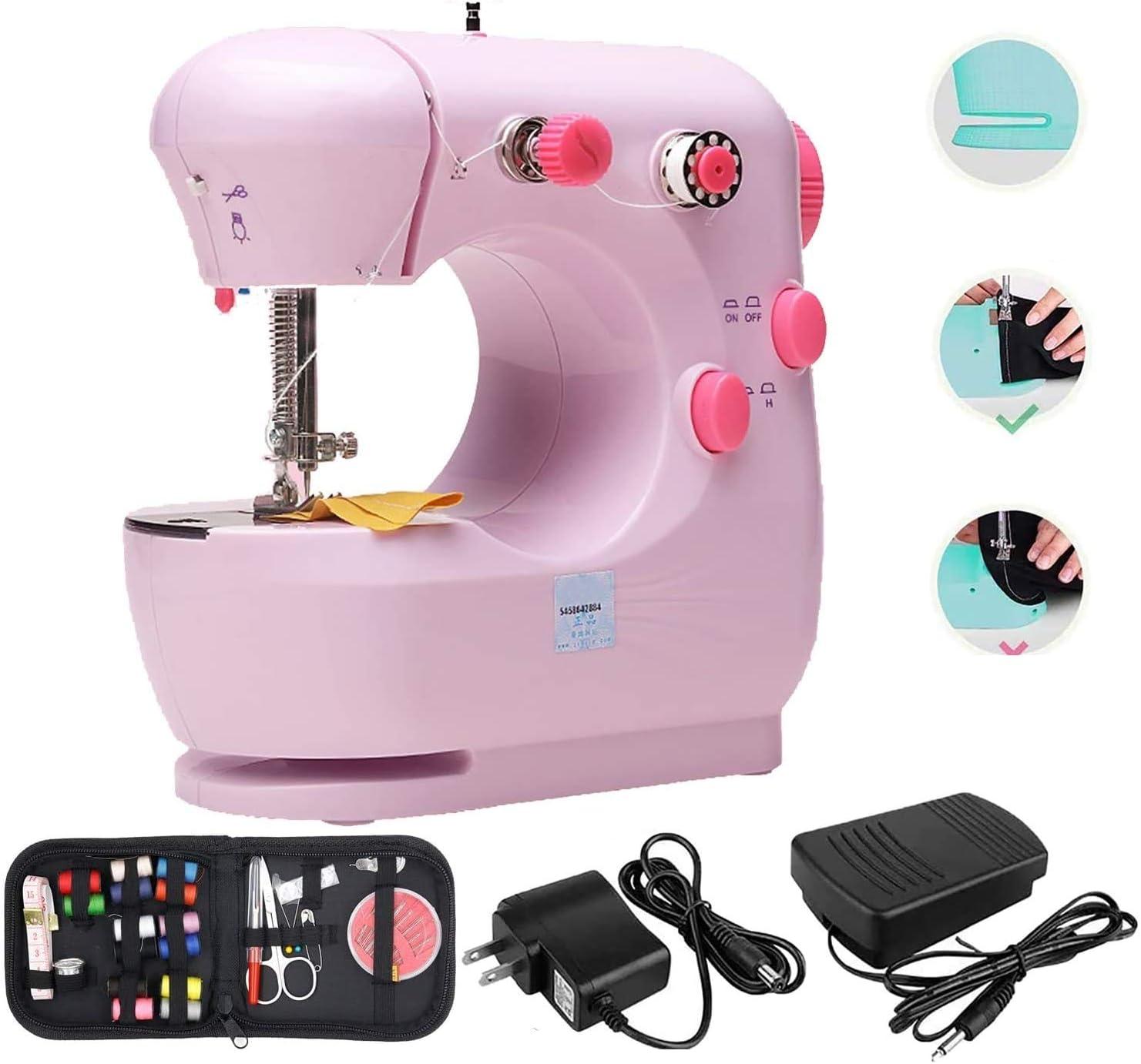 TooFu Manufacturer regenerated product Beginner Locking Popular Machine Sewing Household El Mini